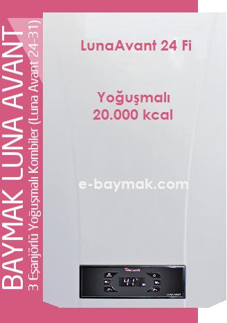 Baymak luna avant 24 fi yo u mal kombi fiyat ve zellikleri for Manuale termostato luna in 20 fi